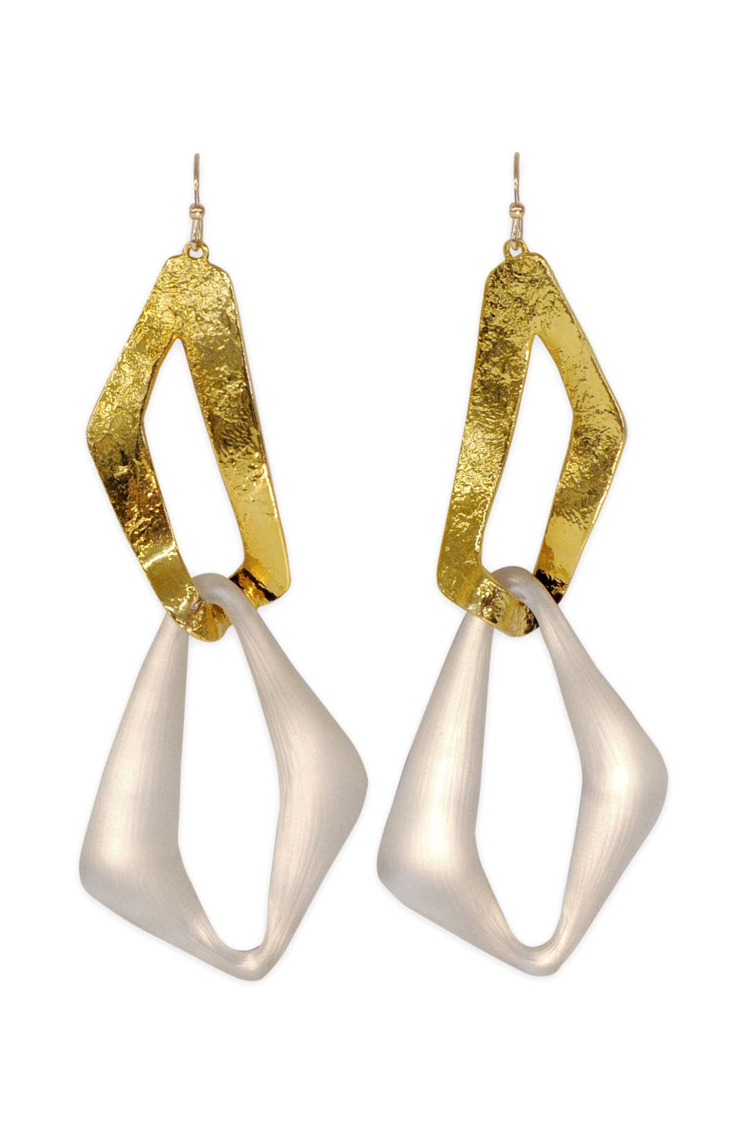 Mod Double Link Earring by Alexis Bittar