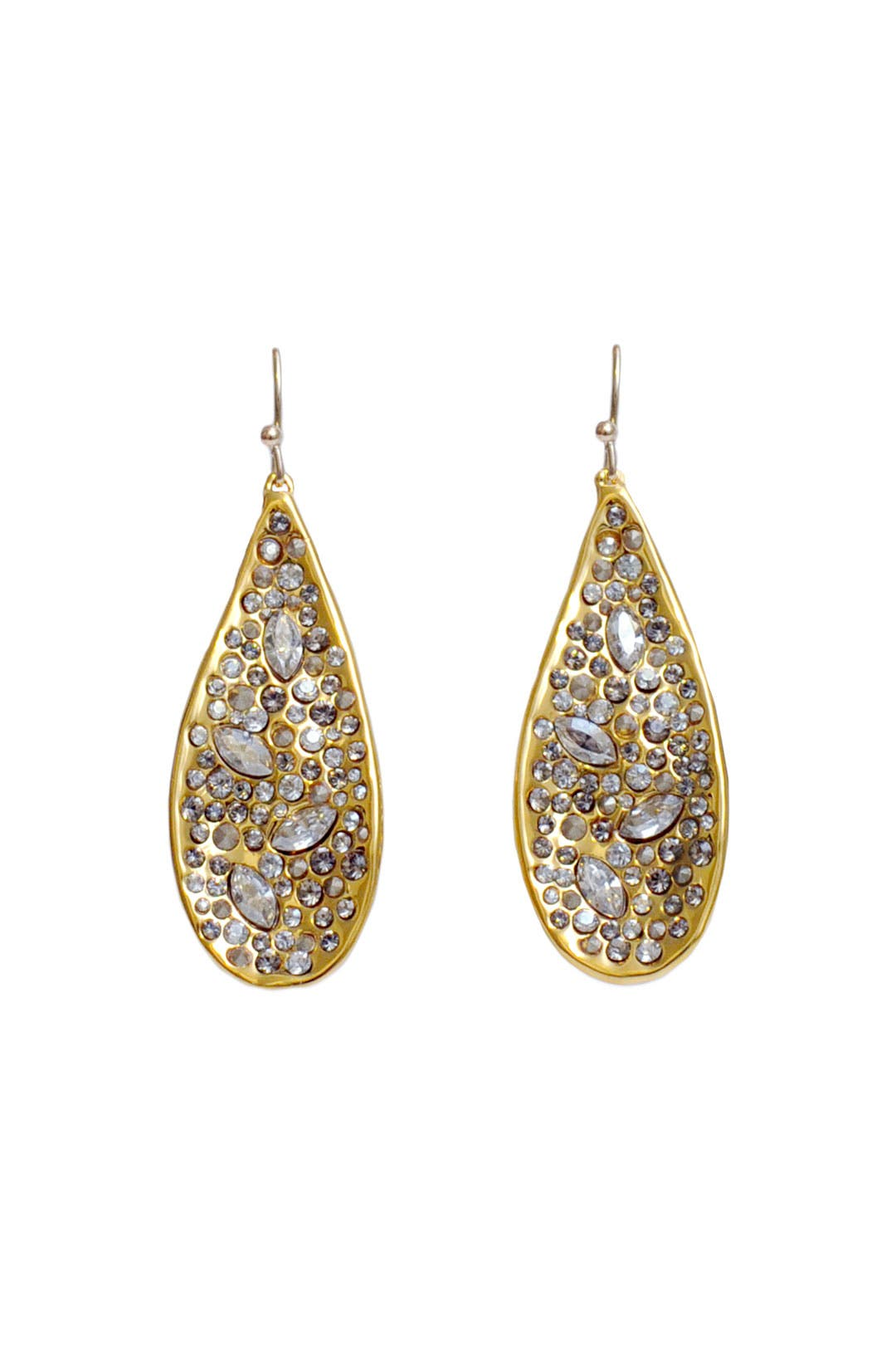 Pave Teardrop Earring by Alexis Bittar