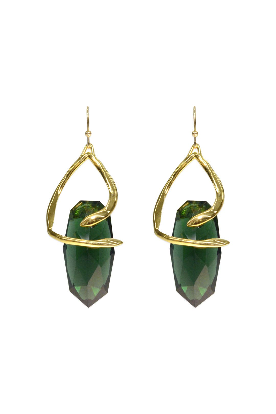 Snake Charmer Earrings by Alexis Bittar