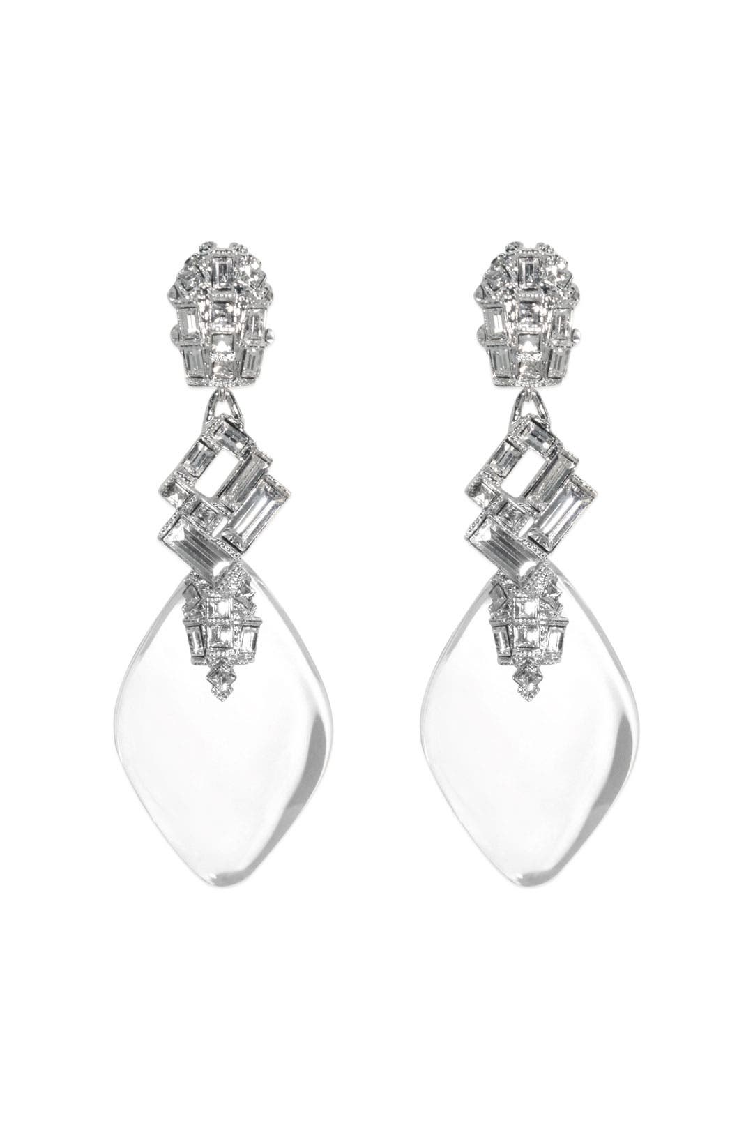 Glass Slipper Earrings by Alexis Bittar