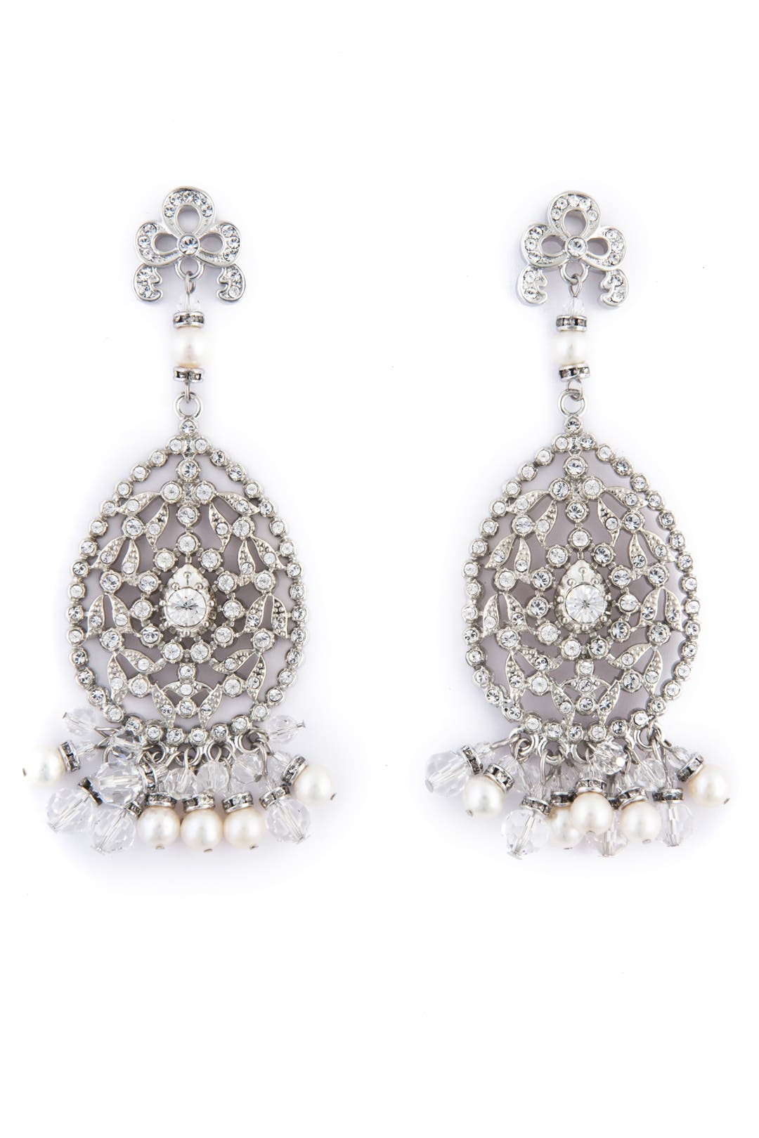 Chandelier of Elegance Earrings by Badgley Mischka Jewelry