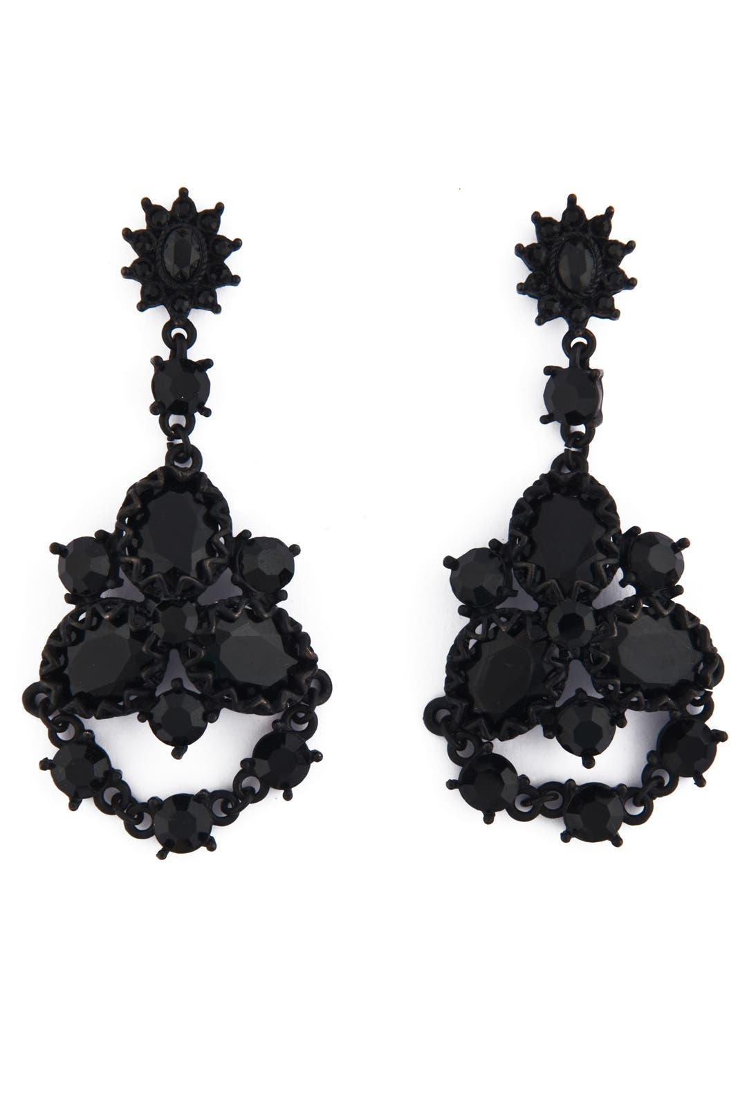 Elegant Sophisticated Symmetry Earrings by Badgley Mischka Jewelry