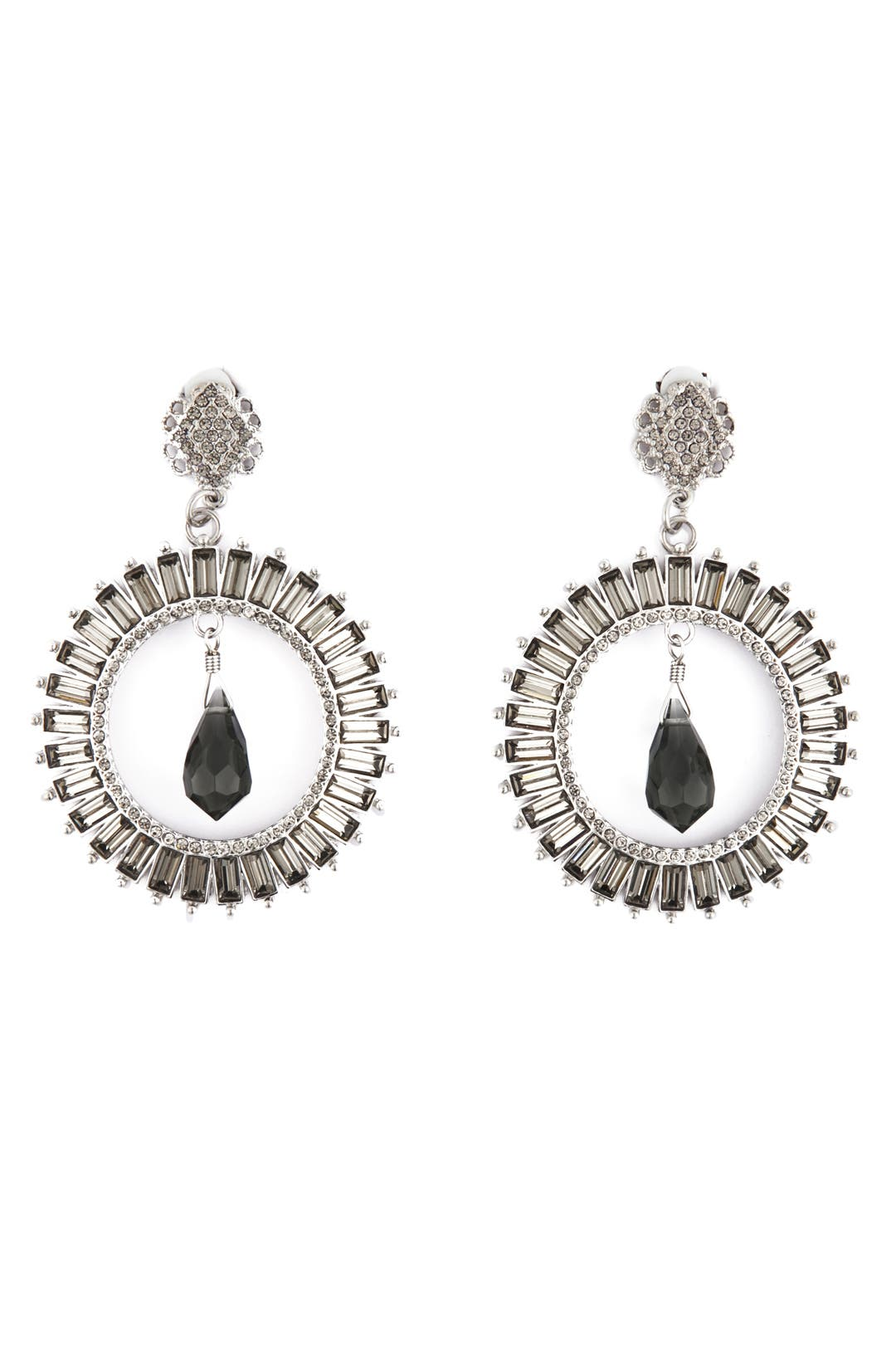 Eye of Eros Earrings by Badgley Mischka Jewelry