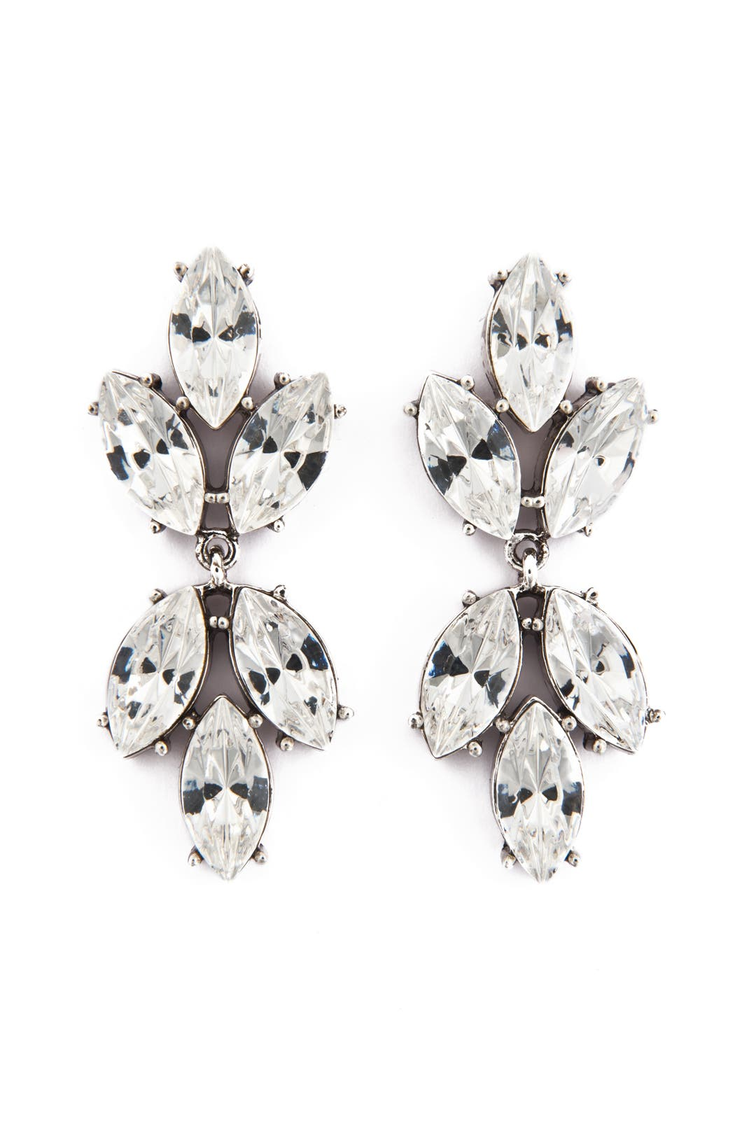 Falling Leaf Earrings by Badgley Mischka Jewelry