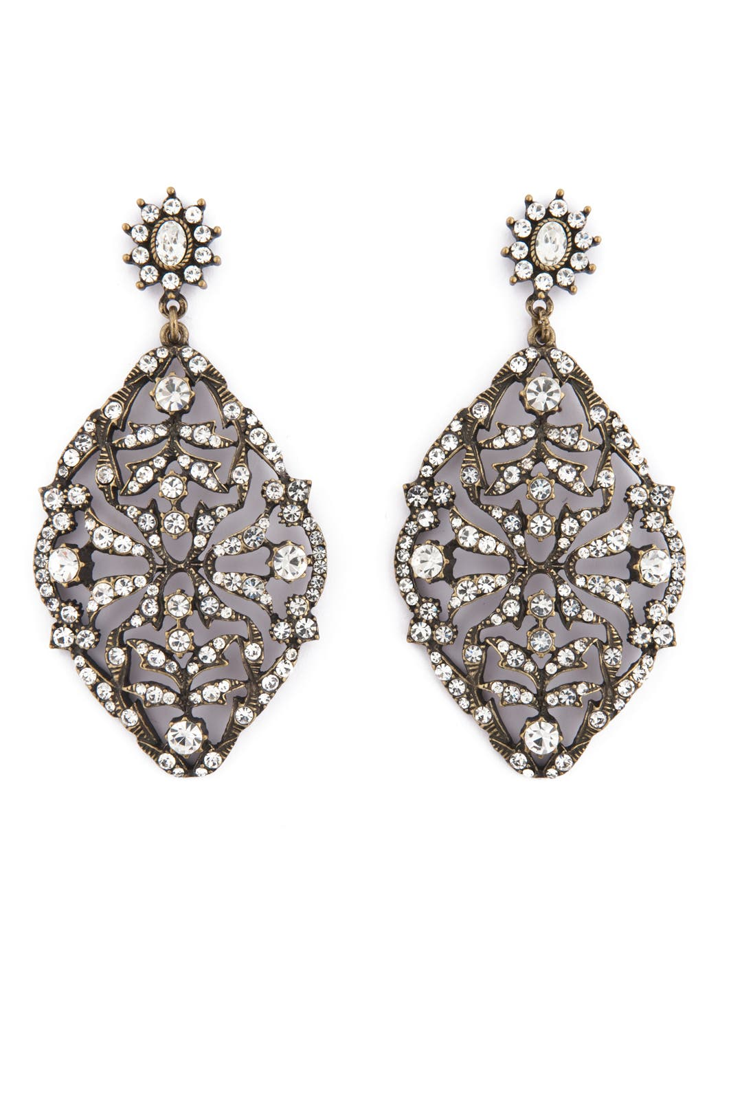 Grand Entrance Earrings by Badgley Mischka Jewelry