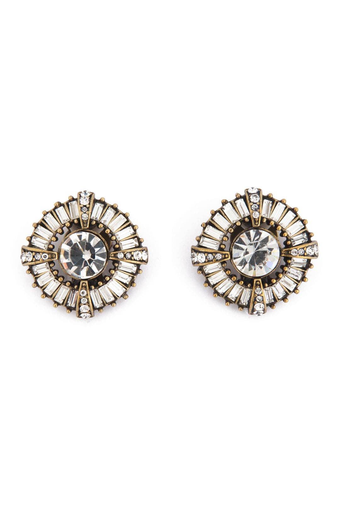 Roman Shield Studs by Badgley Mischka Jewelry