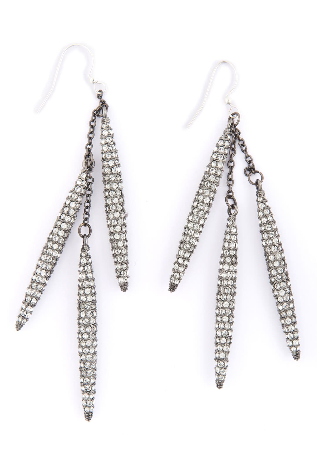 Pave Caryn Spear Earrings by CC Skye