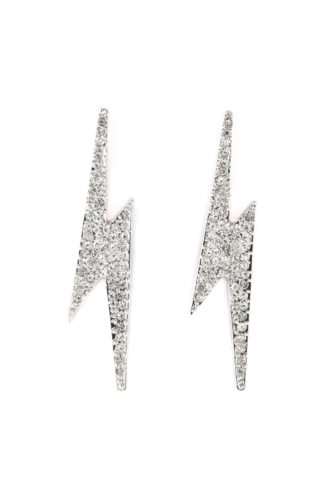 Pave Flash Earrings by CC Skye