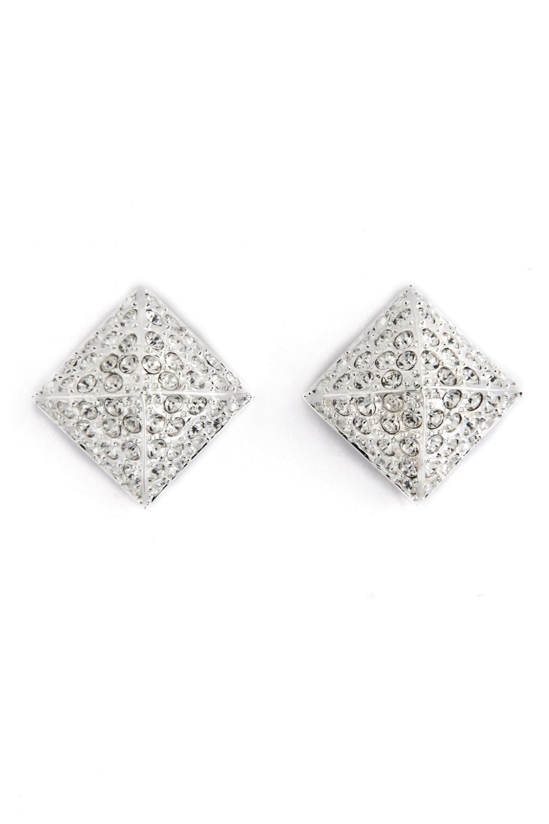 Pave Stud Earrings by CC Skye