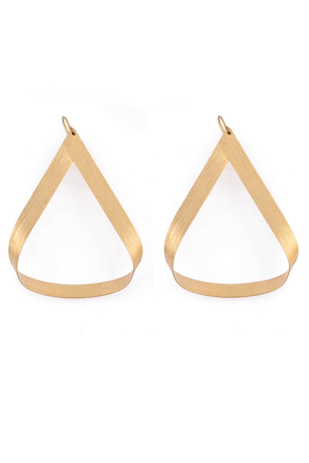 Gold Adonis Hoops by Citrine by the Stones