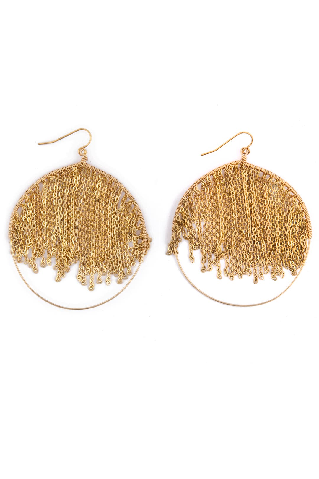 Gold Rain Earrings by Citrine by the Stones