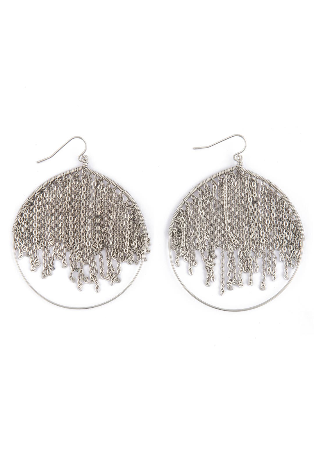 Silver Rain Earrings by Citrine by the Stones