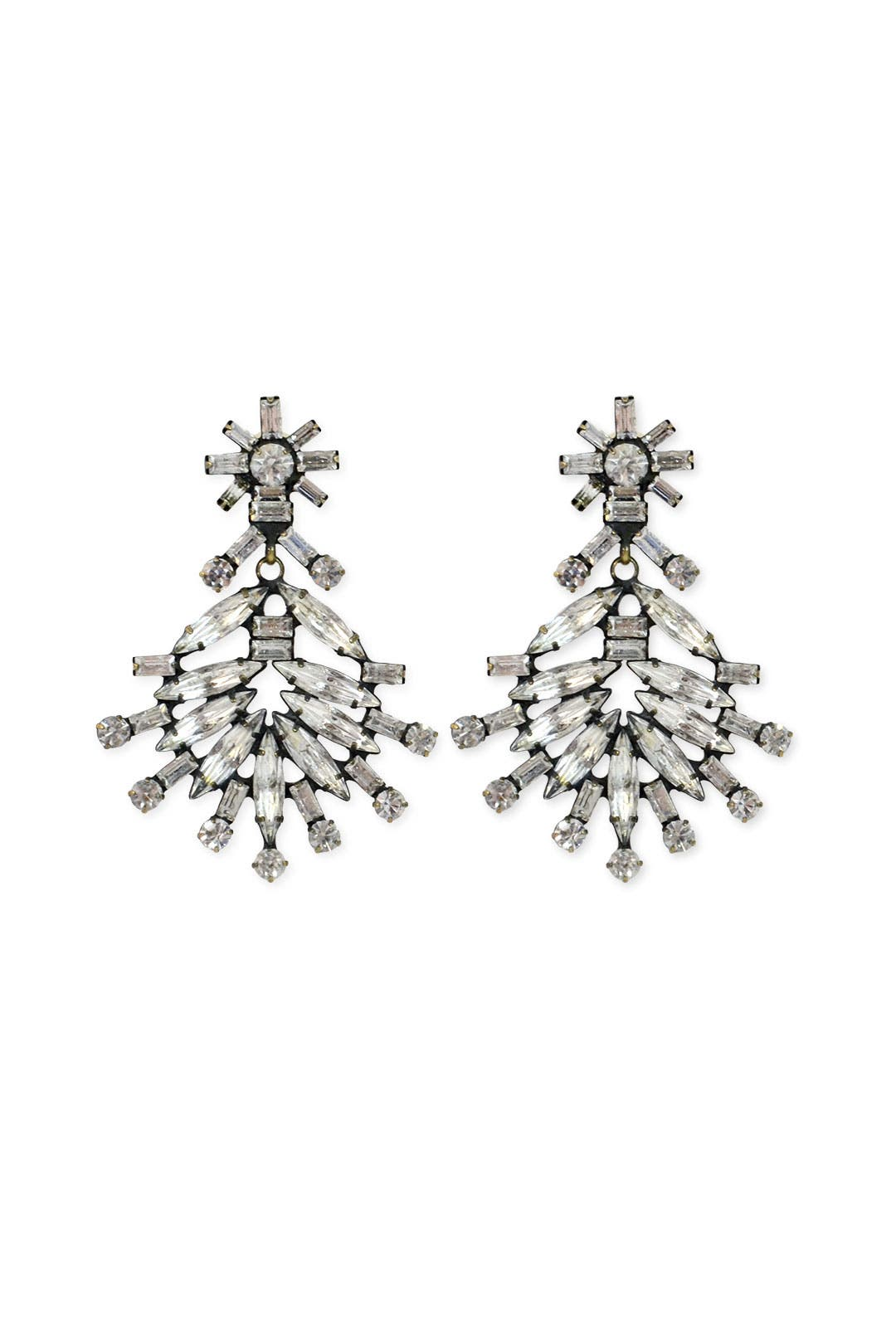 Laboush Crystal Earrings by Dannijo
