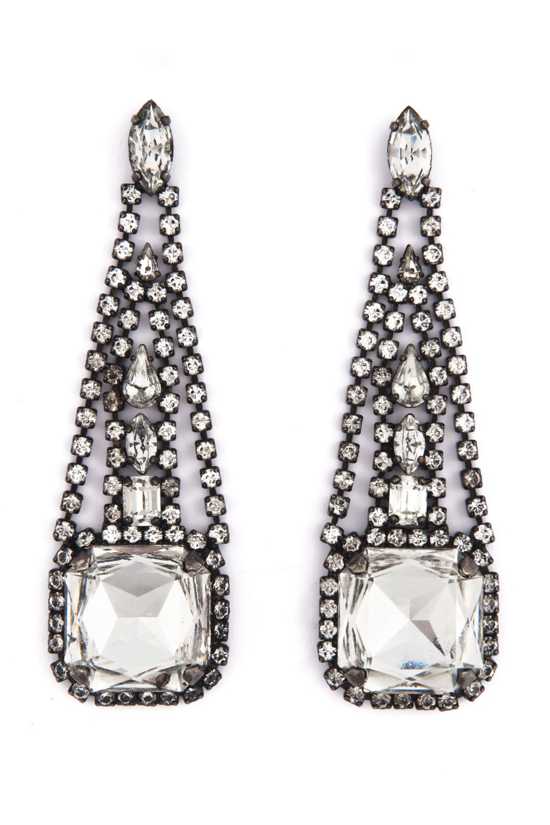 Chrysler Earrings by Erickson Beamon