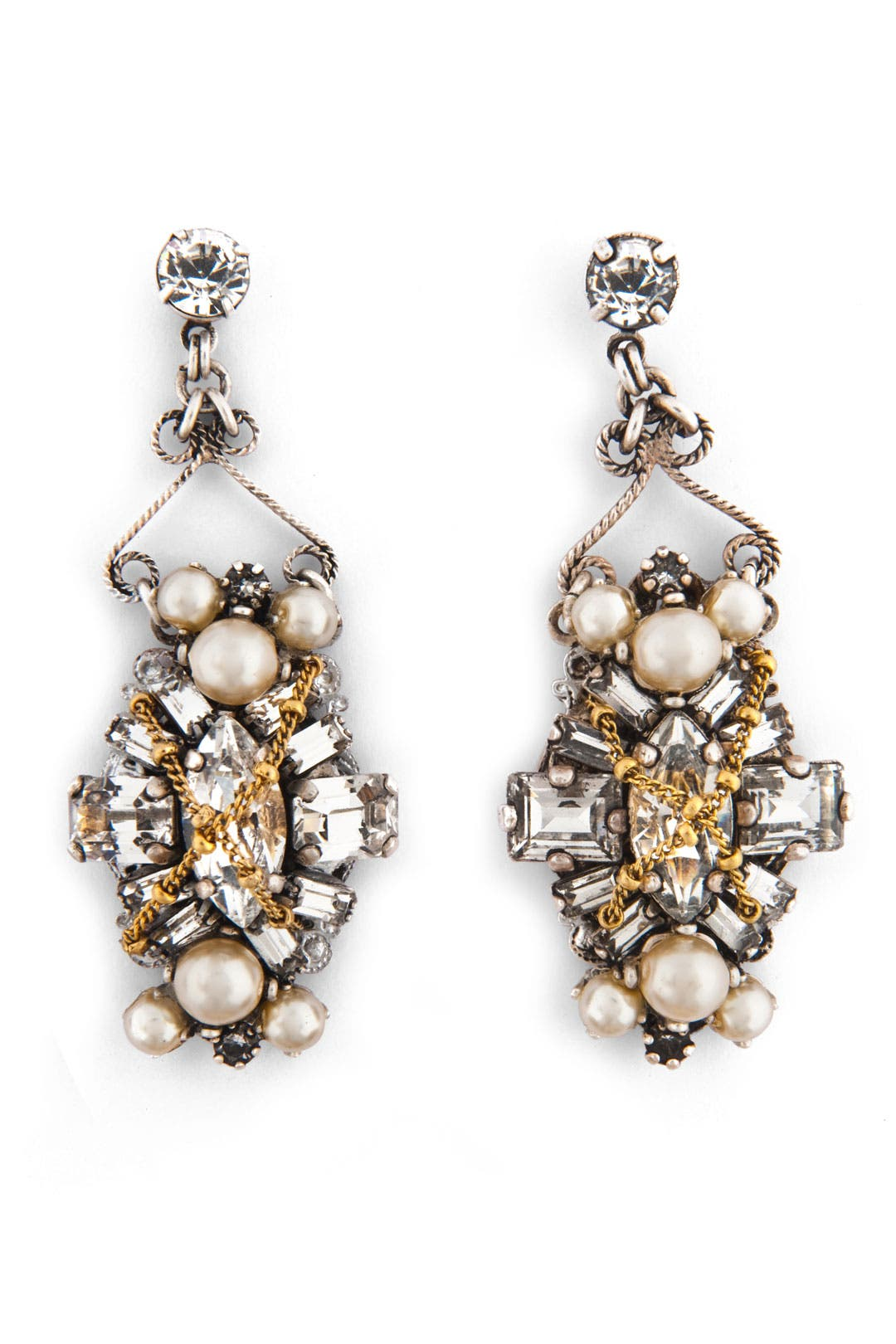 Glenda Earrings by Erickson Beamon