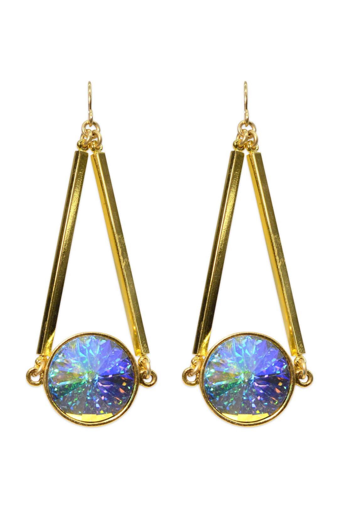 Tangled Up In Gold Earrings by Gemma Redux