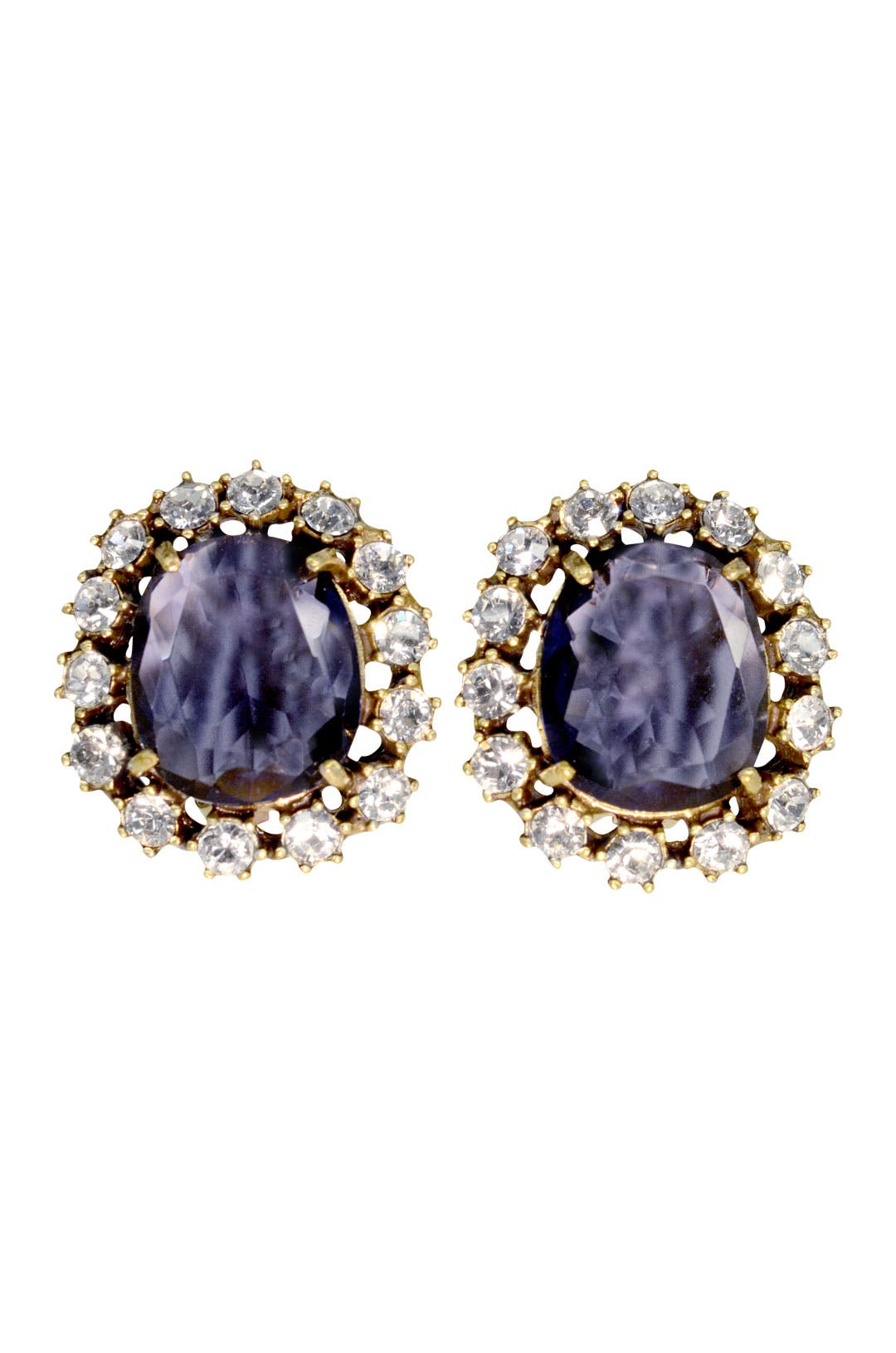 Regal Amethyst Earrings by Gerard Yosca