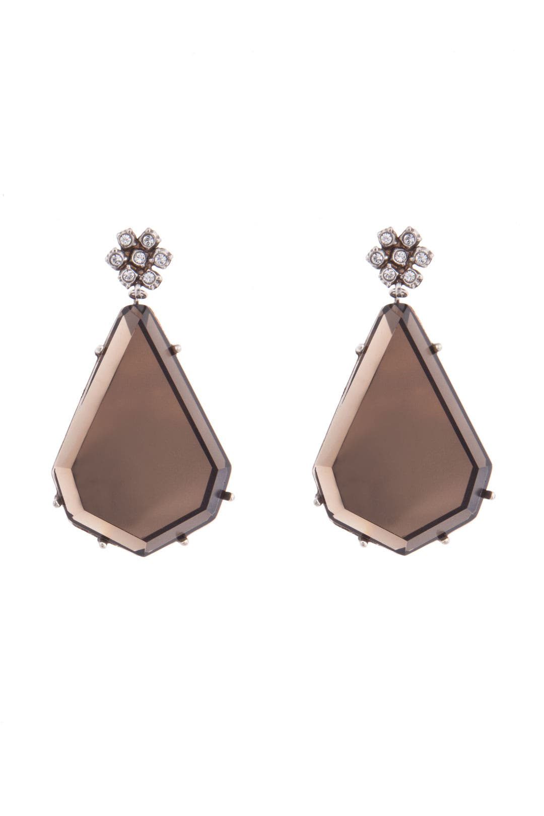 Taupe Trance Earrings by Gerard Yosca