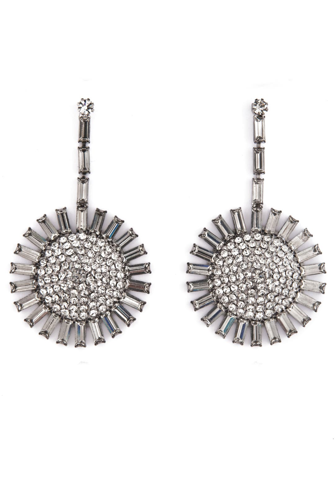 Crystal Sunshine Earrings by Janis Savitt