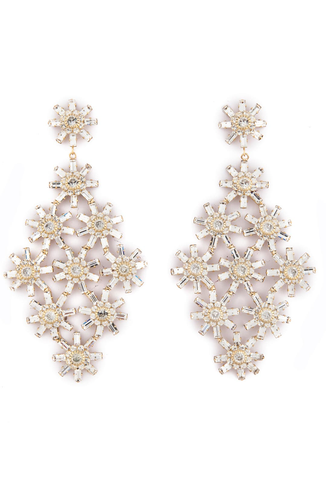 Snowflake Earrings by Janis Savitt