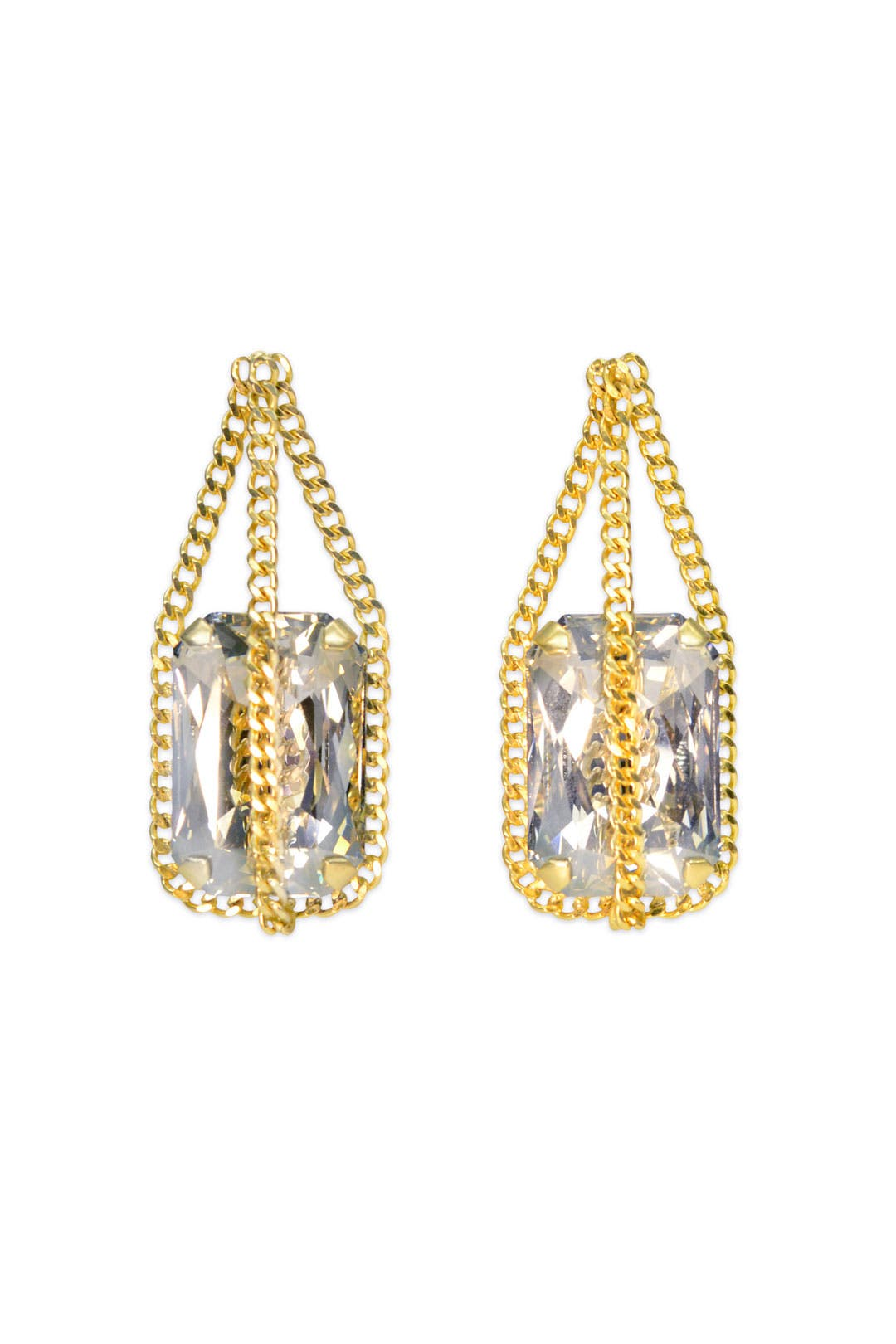 Treasured Gold Earrings by Janis Savitt