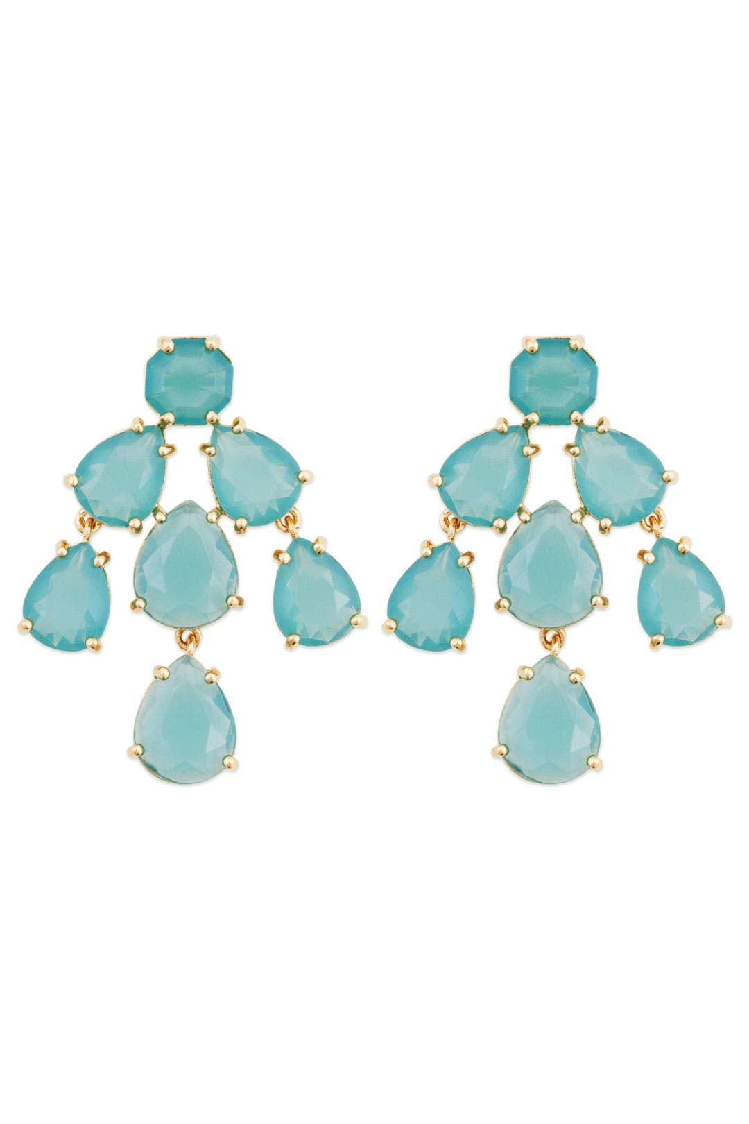 Aqua Kate Chandelier Earrings by kate spade new york accessories