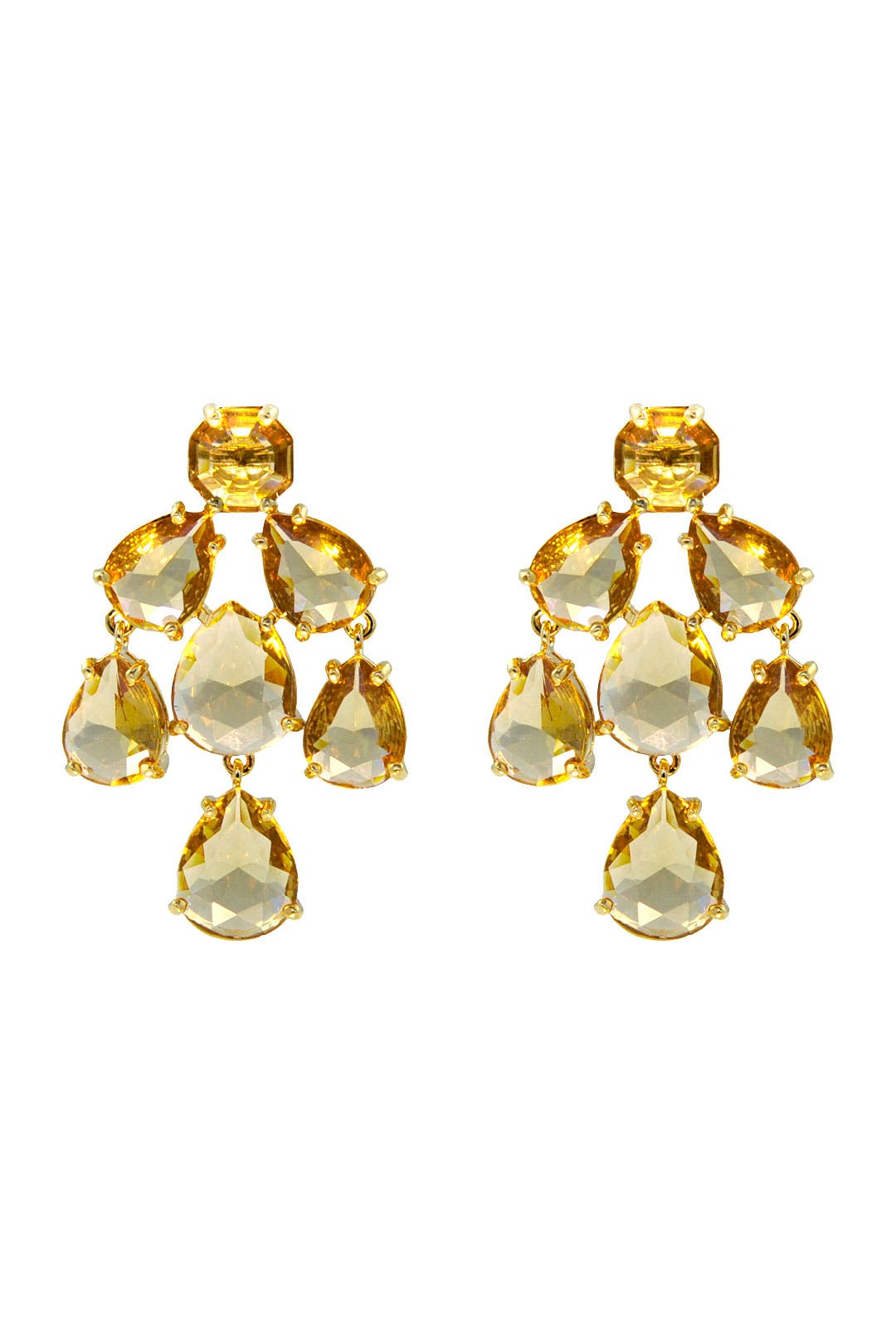 Champagne Kate Chandelier Earrings by kate spade new york accessories