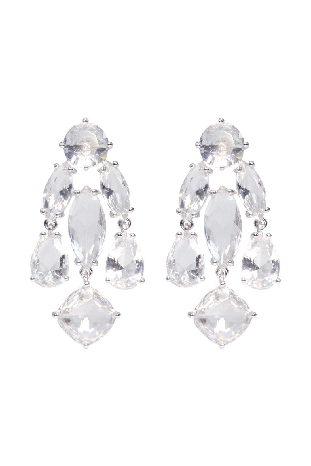 Clear Statement Earrings by kate spade new york accessories