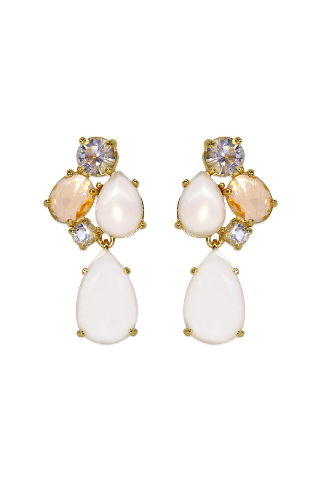 Crystal Chapel Cluster Earrings by kate spade new york accessories