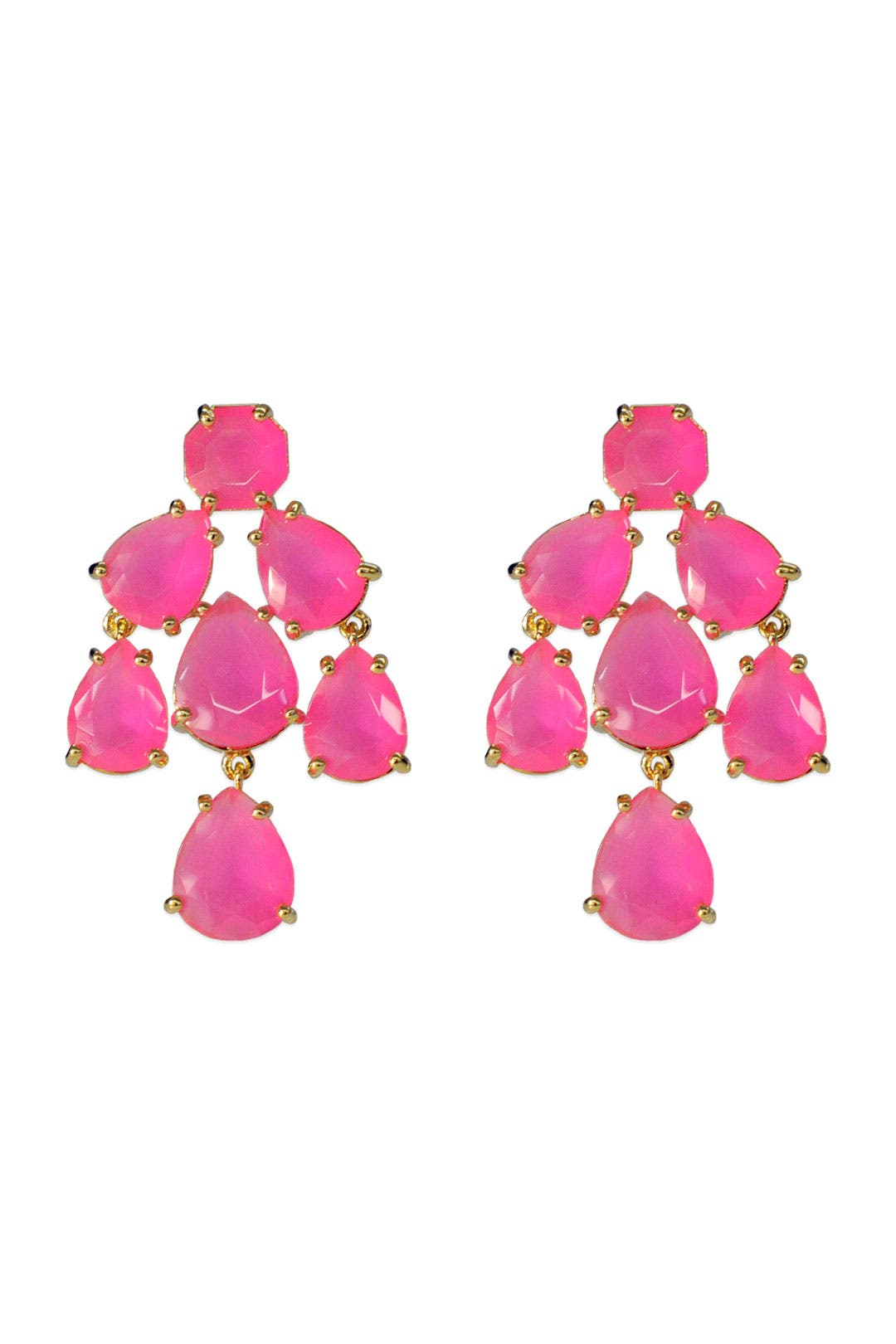 Hot Pink Kate Chandelier Earrings by kate spade new york accessories