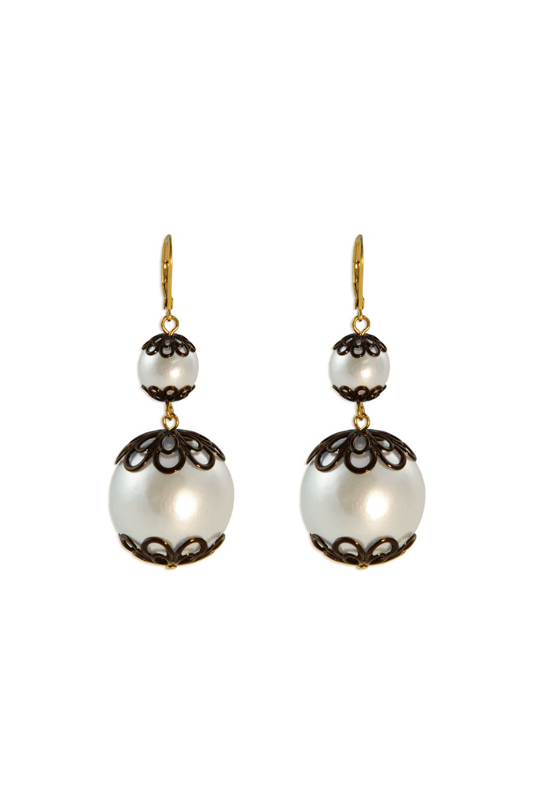 Japanese Floral Pearl Earrings by kate spade new york accessories