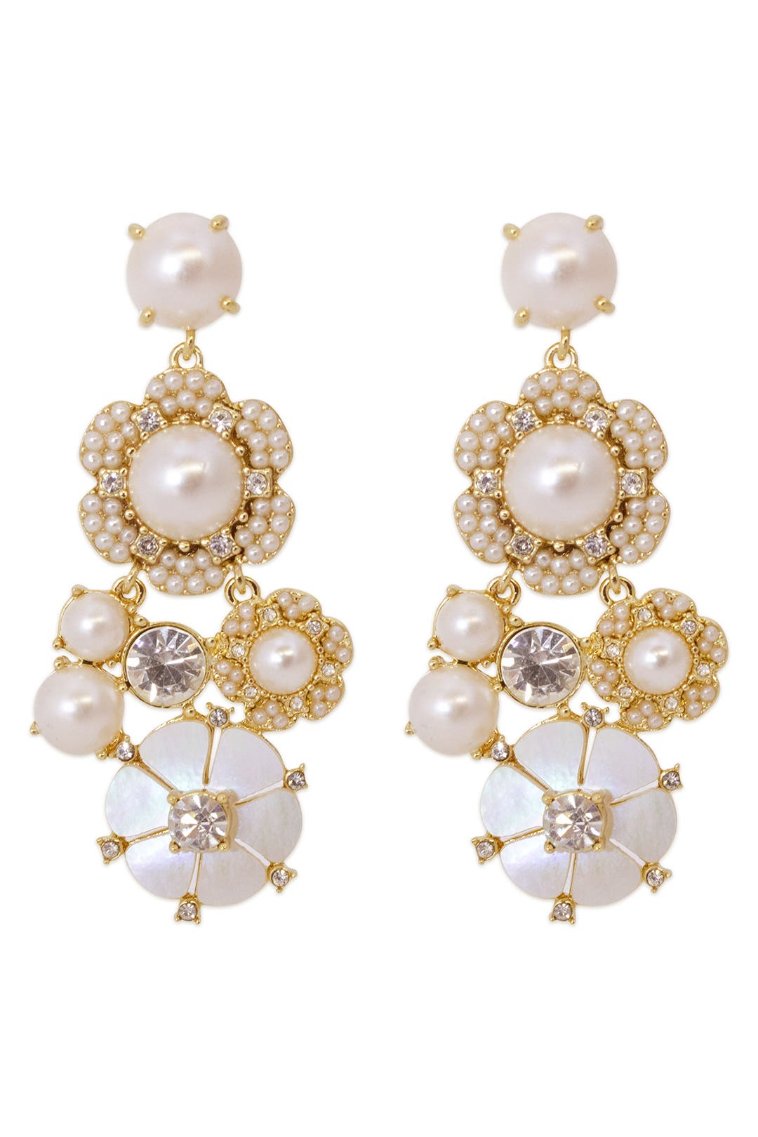 Park Floral Chandelier Earring by kate spade new york accessories