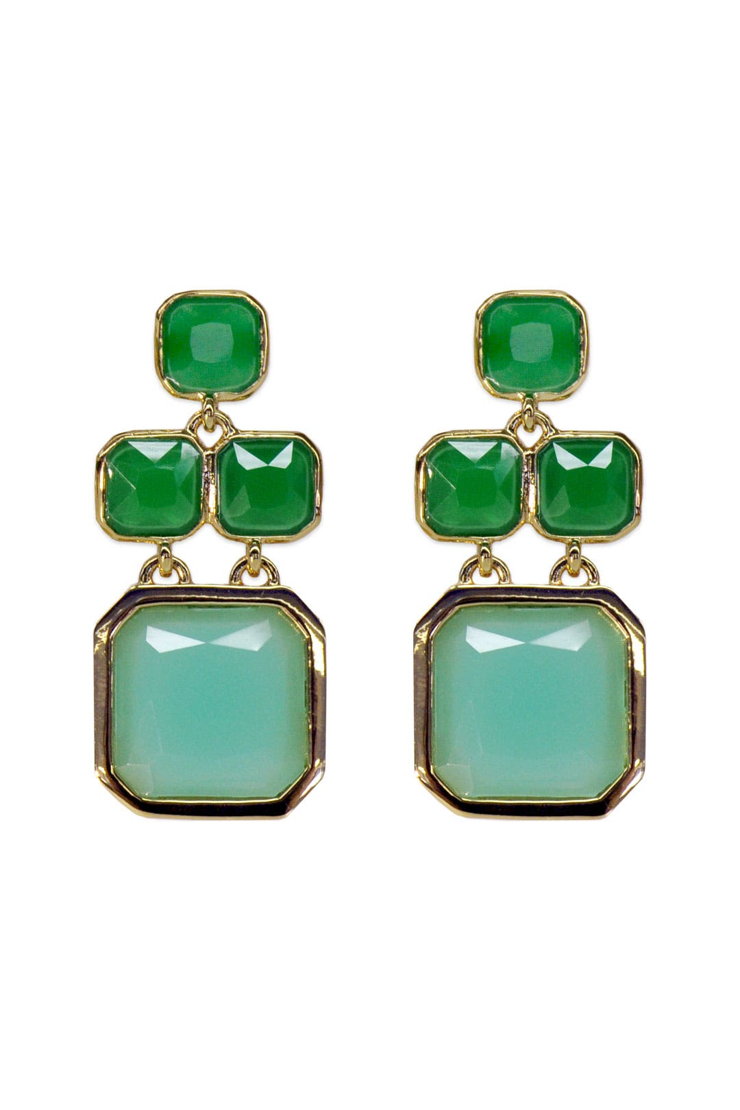 Seafoam Chandelier Earrings by kate spade new york accessories