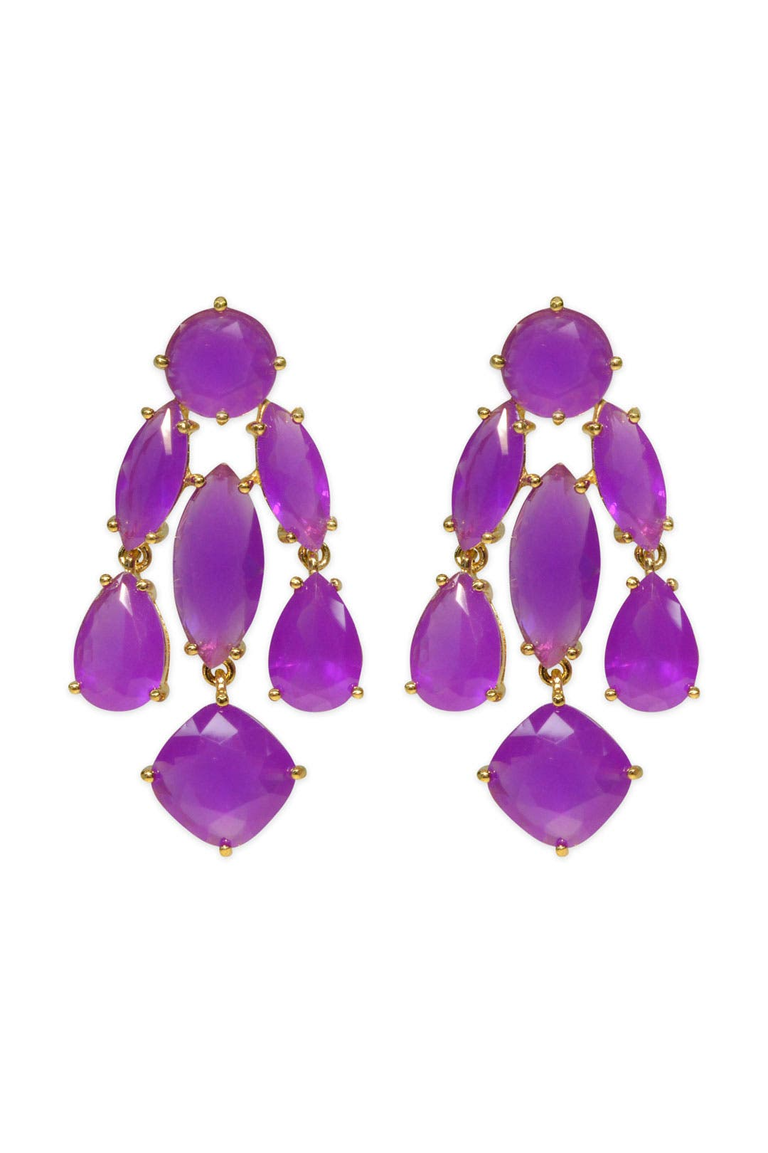 Violet Statement Earrings by kate spade new york accessories