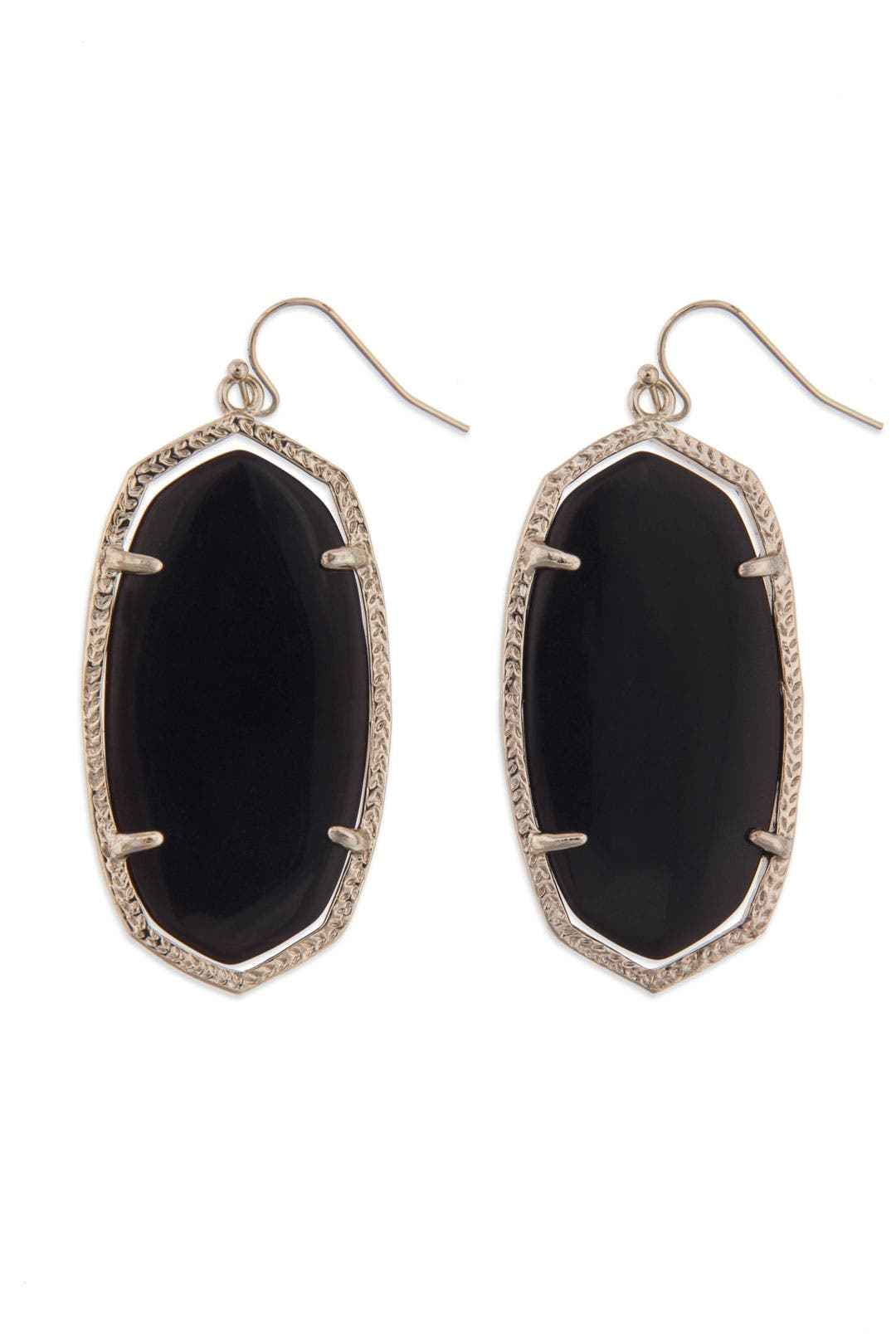 Black Onyx Danielle Earring by Kendra Scott