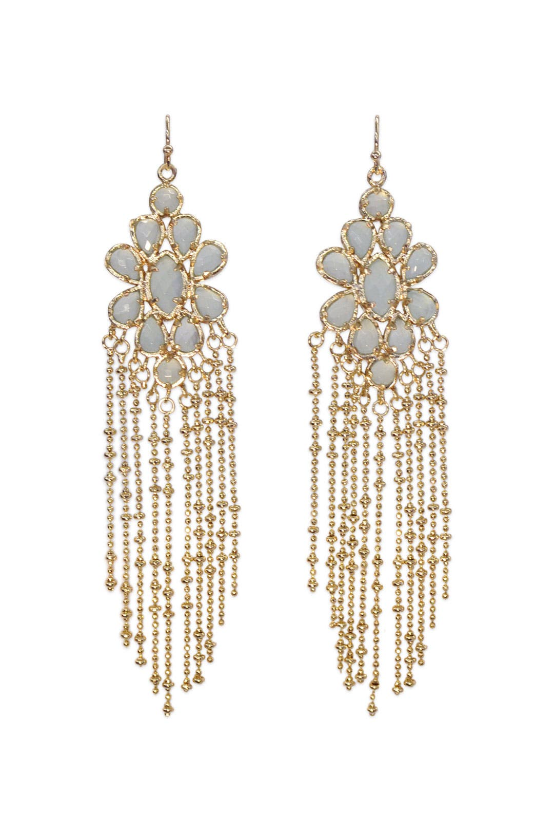 Chalcedony Rain Earrings by Kendra Scott