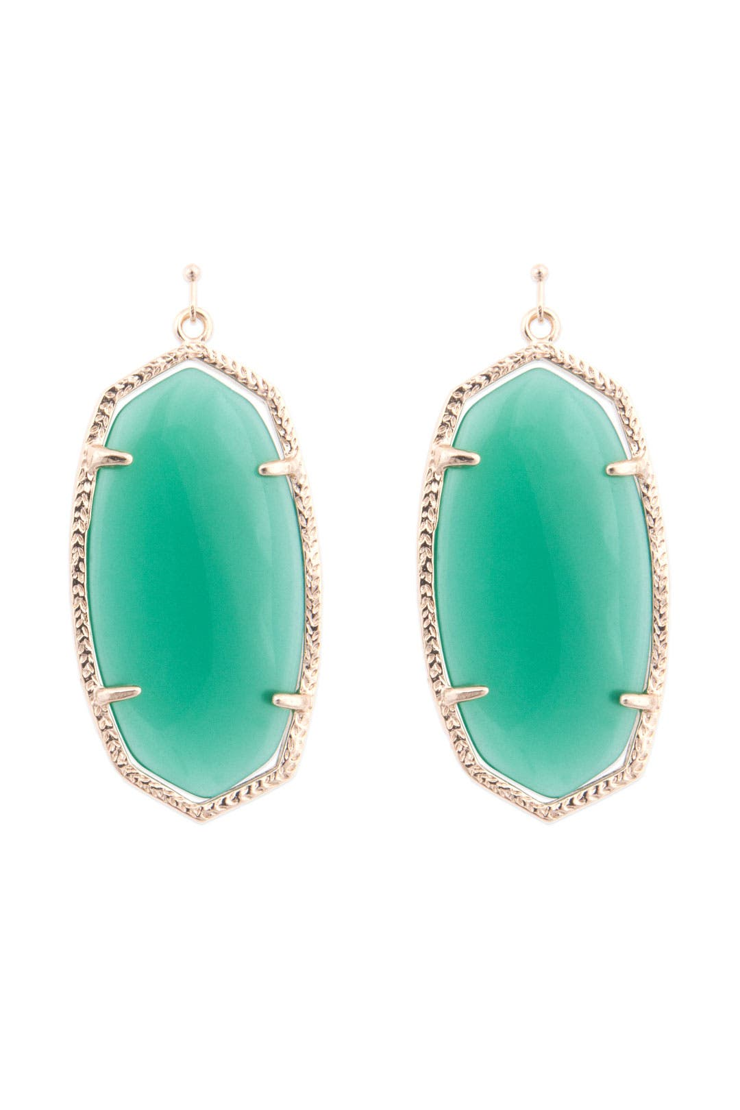 Danielle Emerald Earrings by Kendra Scott