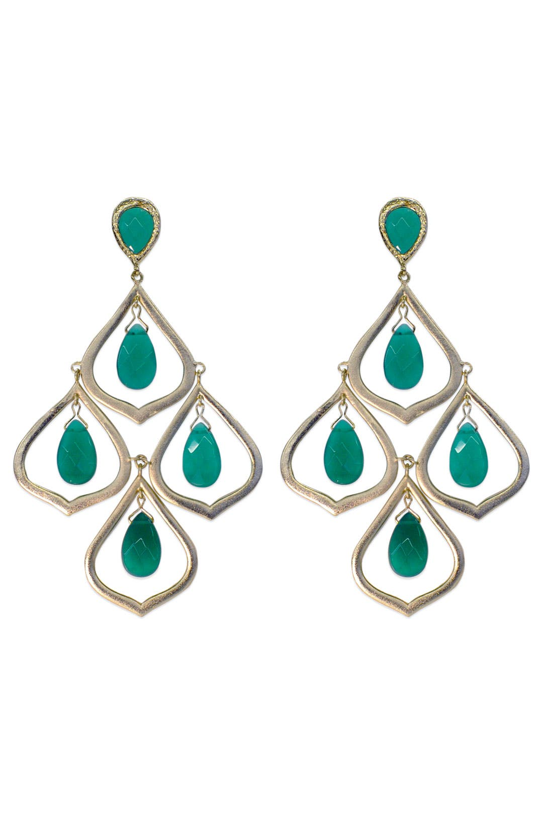 Sage Candelabra Earrings by Kendra Scott