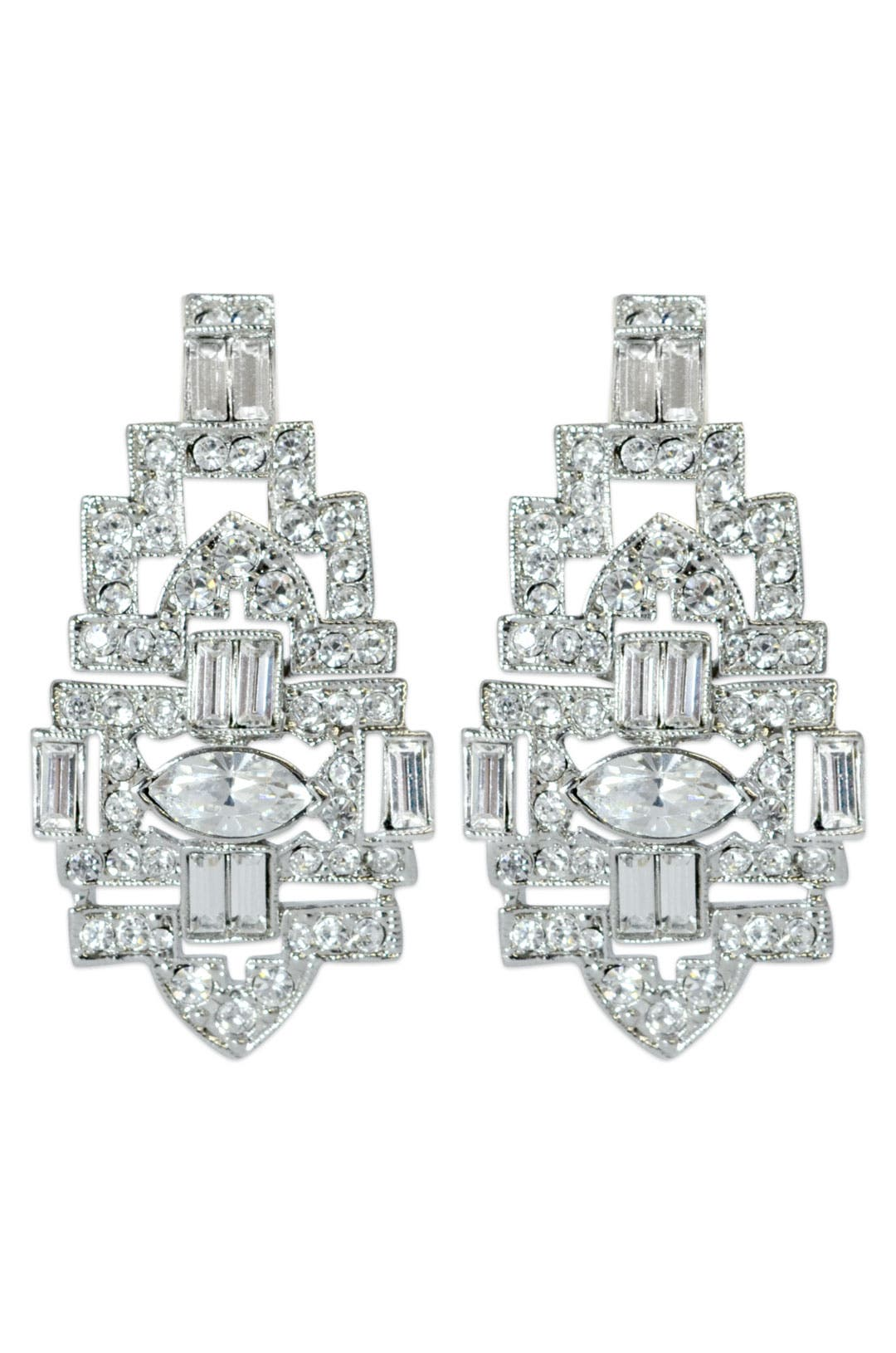 Teatro Earrings by Kenneth Jay Lane