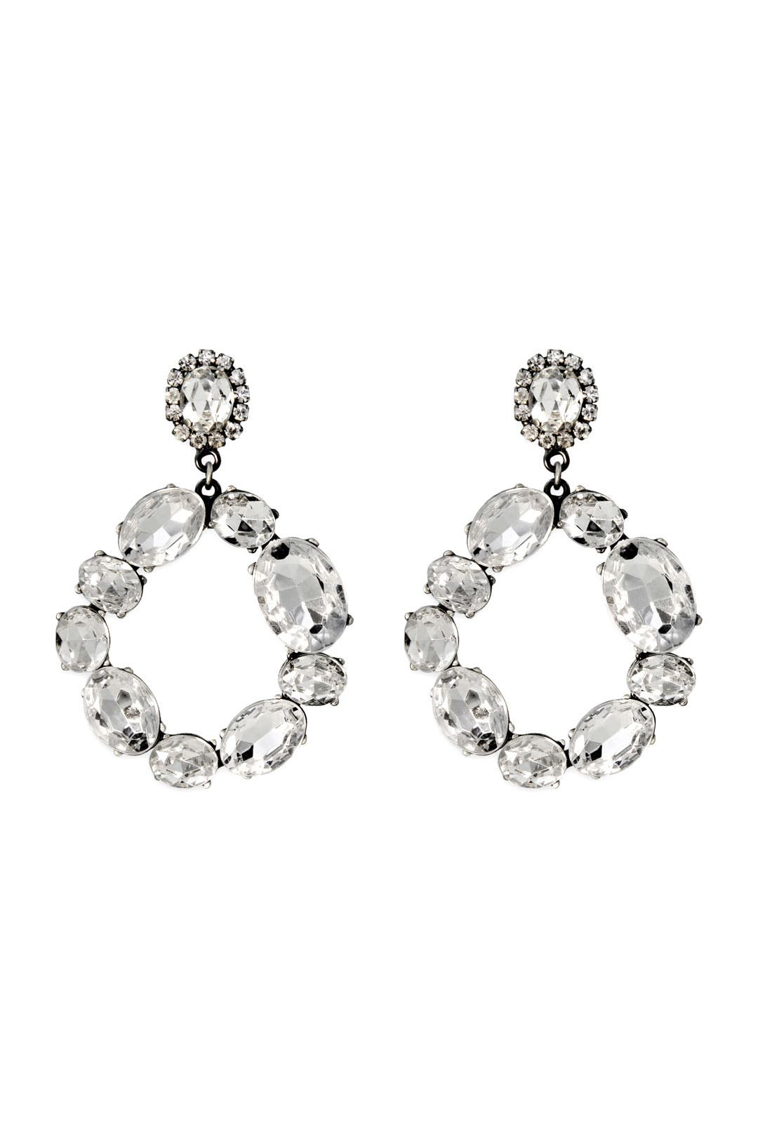 Nottoway Crystal Earrings by Lee Angel
