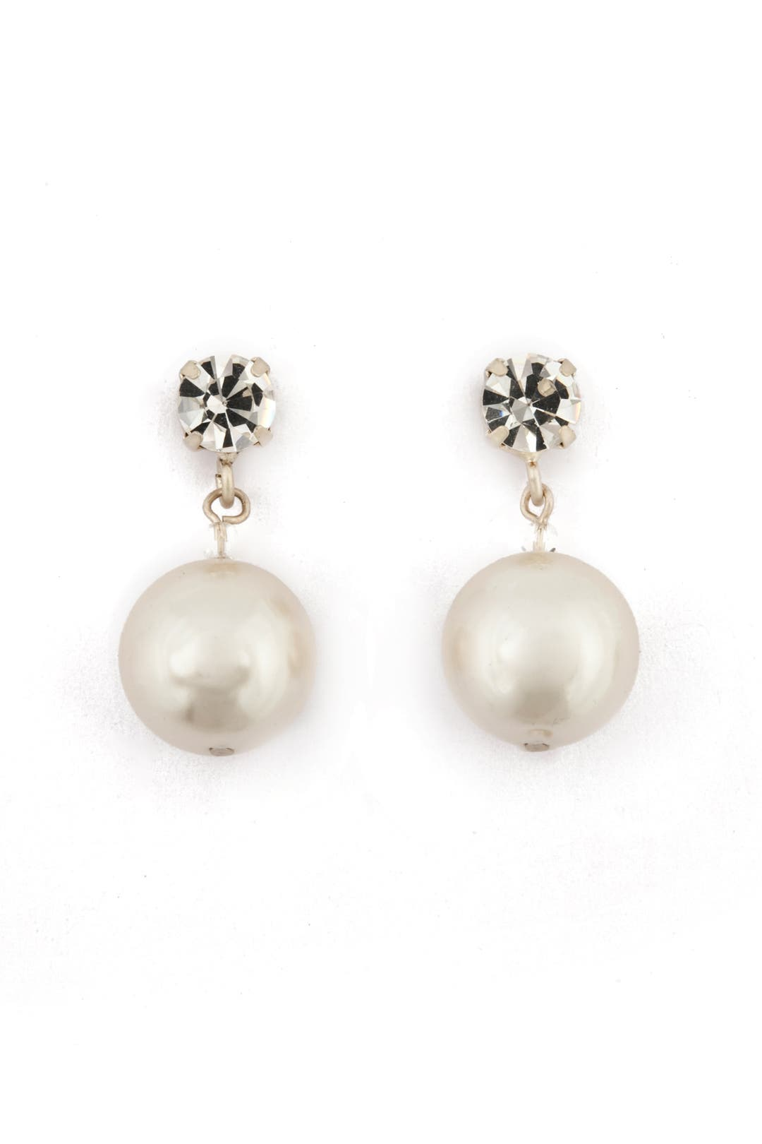 Pearl Drop Earrings by Lee Angel