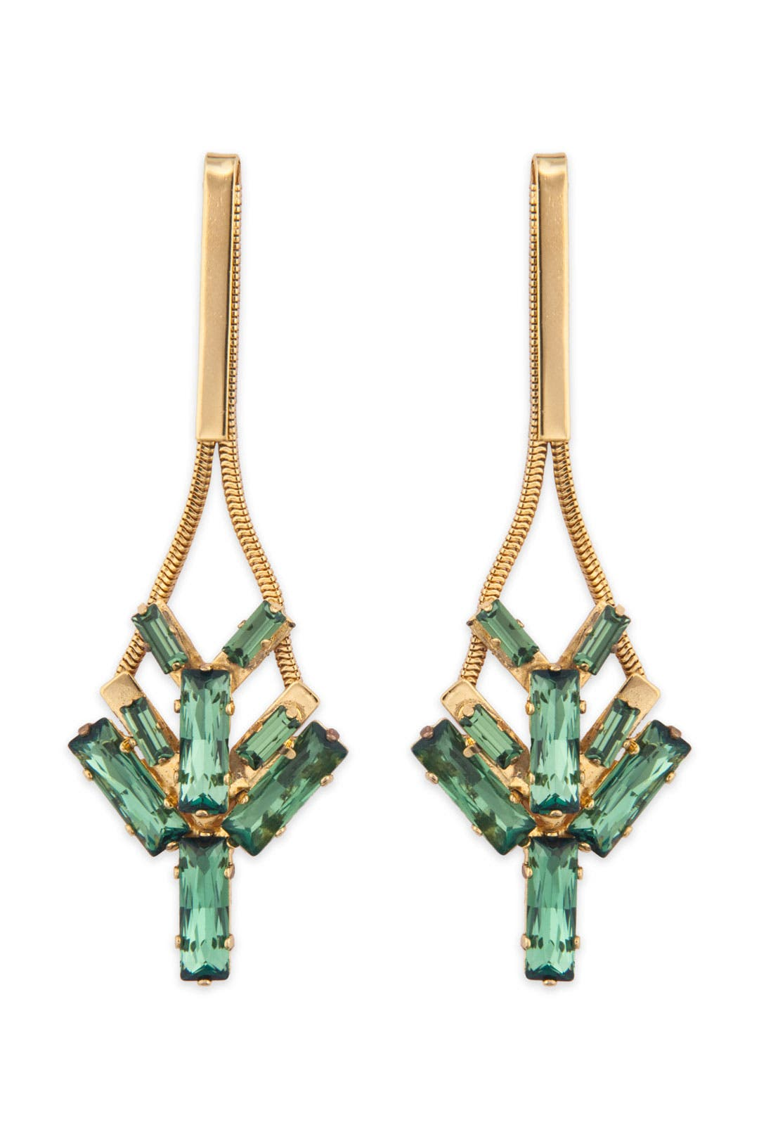 Tropical Ocean Stone Earrings by Lee Angel