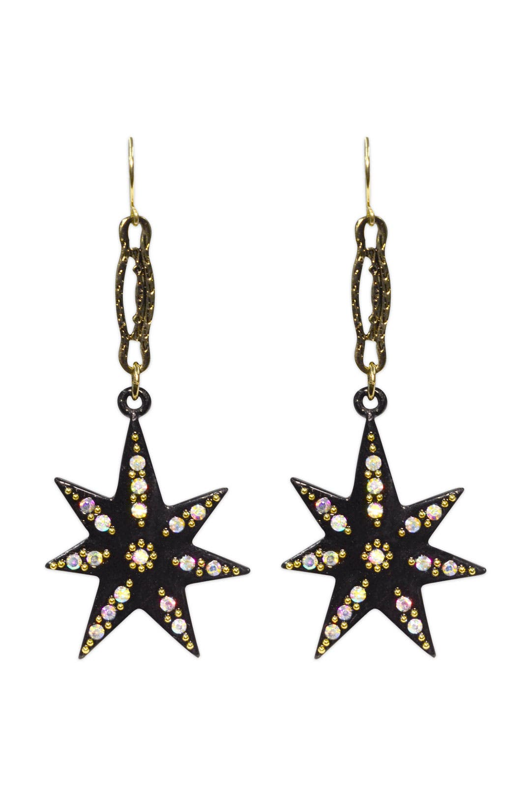 Black Spark Earring by Lulu Frost