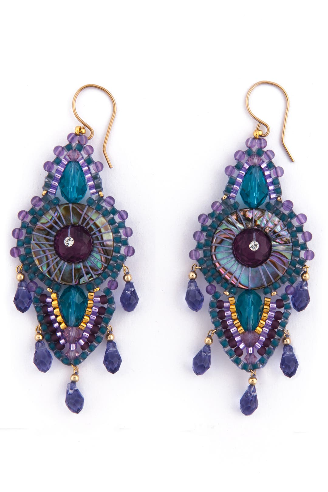Bohemian Traveler Earrings by Miguel Ases