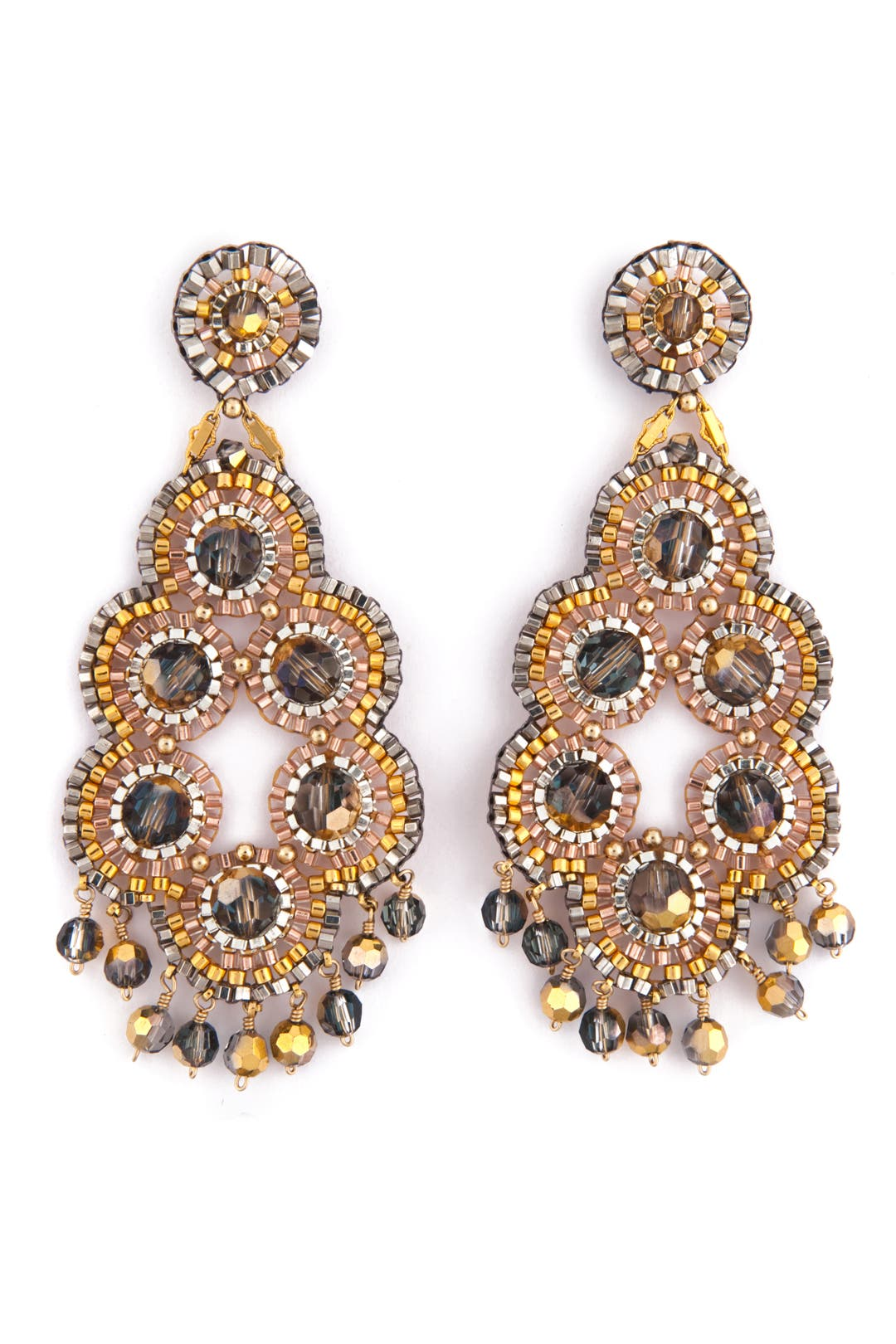Dress Me Up Earrings by Miguel Ases