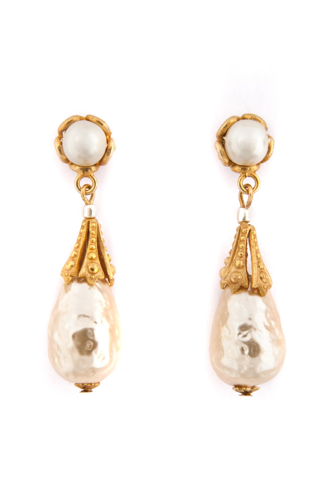 Royal Contessa Earrings by Miriam Haskell