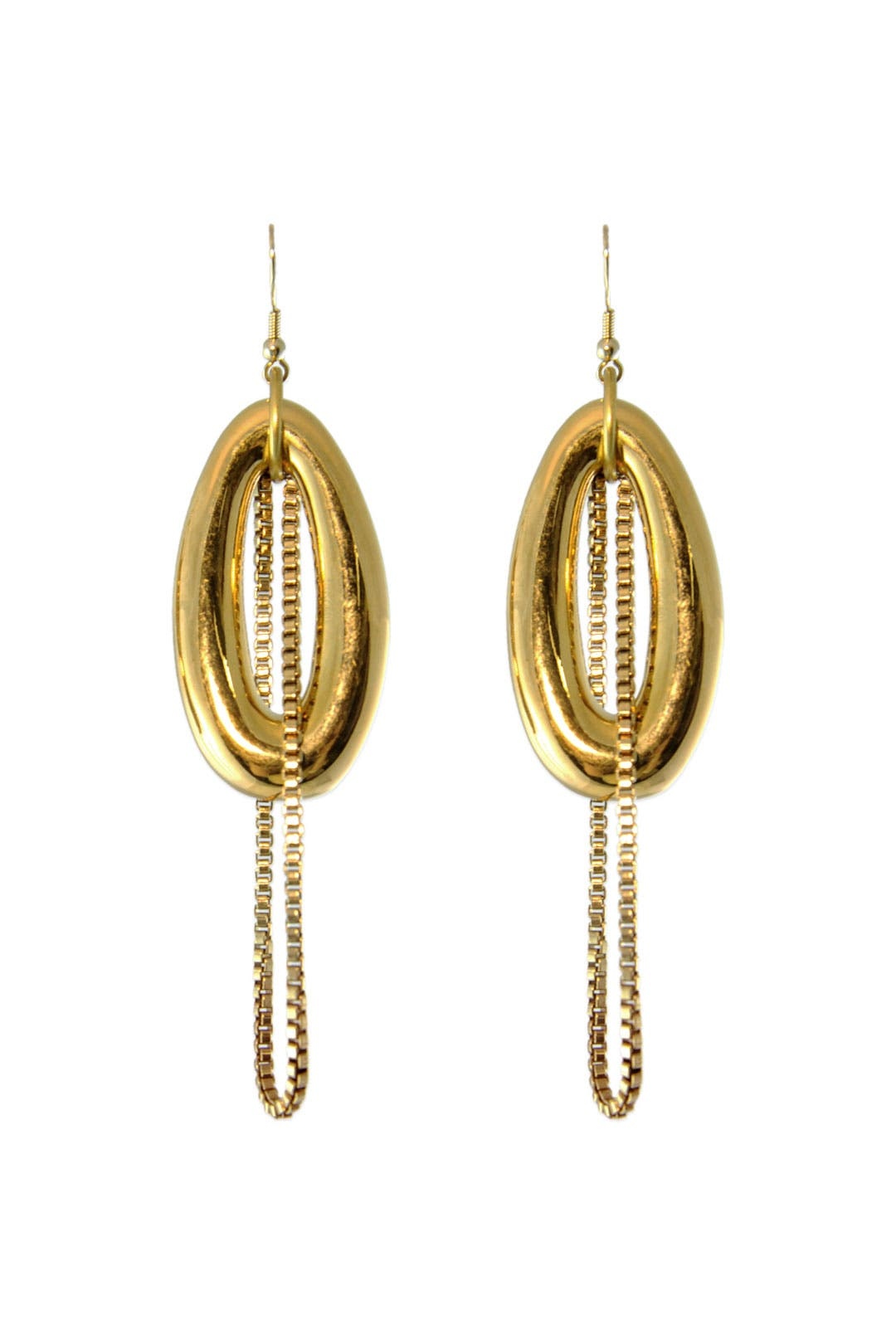 Arcadian Chain Earrings by Nicole Romano