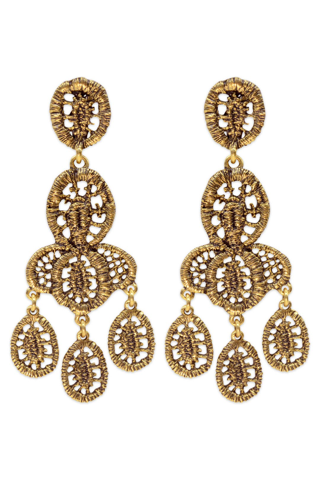 Bandra Earrings by Oscar de la Renta