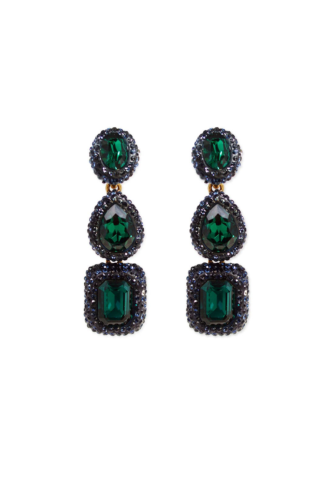 Creeping Ivy Earrings by Oscar de la Renta
