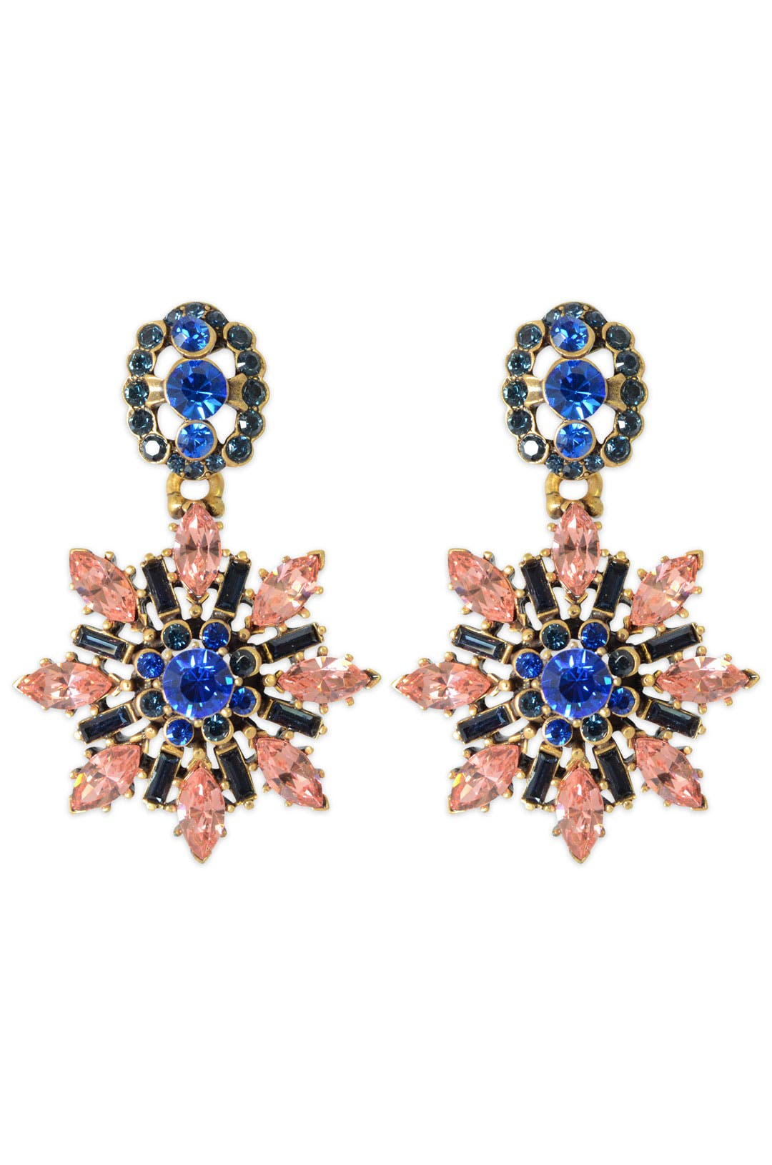 Prism Etoile Earrings by Oscar de la Renta